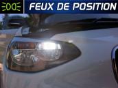 Pack Ampoules LED - Feux de Position - BMW Série 1 F20 F21