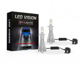 Kit Ampoules Led Vision H4