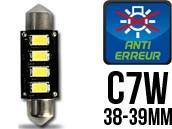 Ampoule Led Navette C7W - Anti-Erreur ODB