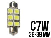 Ampoule Led Navette C7W - Double Light 6