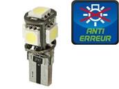 Ampoule Led W5W - Xtrem 5 - Anti-erreur ODB