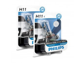 Ampoules H11 Philips White Vision