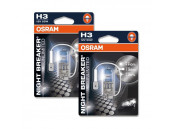 Ampoules H3 Osram Night Breaker Unlimited +110