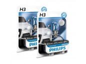 Ampoules H3 Philips White Vision