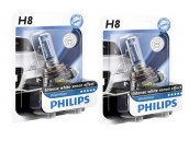 Ampoules H8 Philips White Vision