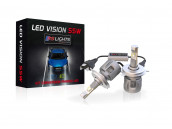 Kit Ampoules Led Vision H4 55W
