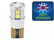 Ampoule Led W5W - SILVER 10 - Anti-erreur ODB