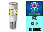 Ampoule Led W5W - Ice Blue 10 000 K - Silver 18 - Anti Erreur