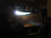 Pack Feux de jour /Veilleuses de Jour Blanc Pur pour Opel Corsa D