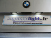 Eclairage de plaque à Led pour BMW Serie 3 E46