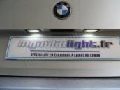 Eclairage de plaque à Led pour BMW Serie 6 E63 E64