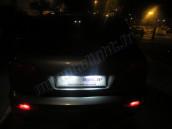 Eclairage de plaque full Led pour Audi Q7 2010+