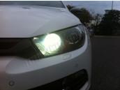Pack Led feux de Jour pour VW Scirocco Anti Erreur ODB - Blanc Pur