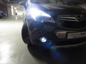 Pack Ampoules Anti Brouillards LED pour Opel Mokka