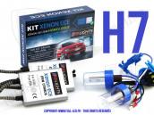 Kit Xénon ECE H7 25W - Homologué - Anti Erreur