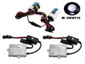Kit Xénon H10 Acces 55W - 6000K