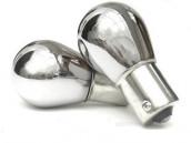Pack 2 ampoules BAU15/PY21W Chrome clignotants