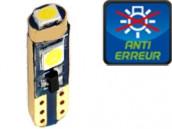 Ampoule Led T5 - W1.2W W2.3W - Anti Erreur ODB