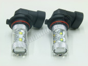 Pack 2 ampoules LED H8 50W