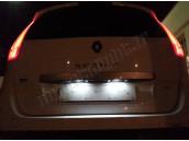 Eclairage de plaque à Led  pour Renault Scénic 2