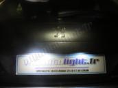 Eclairage de plaque à Led  pour Peugeot 207