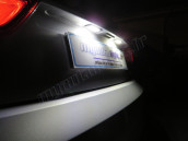 Eclairage de plaque full Led pour Audi A3 8P Facelift
