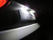 Eclairage de plaque full Led pour Audi A4 B8 Facelift