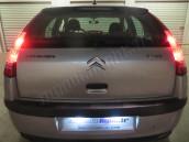 Eclairage de plaque à Led  pour Citroën C4 I