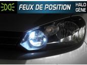 Pack Veilleuses Blanc Pur pour Audi A2