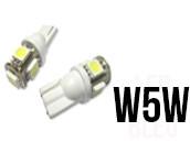 Ampoules Led W5W - éclairage Plaque - Xtrem 5 Classique