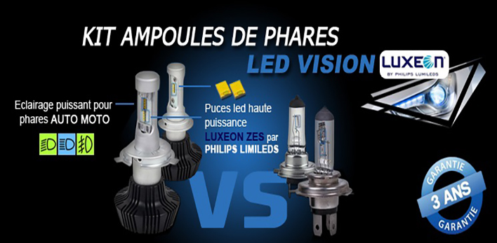 Kit ampoules Led phares